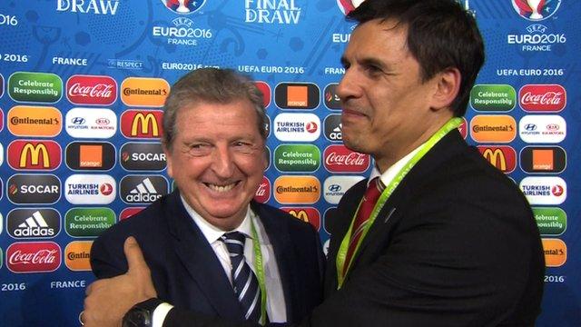 Roy Hodgson and Chris Coleman