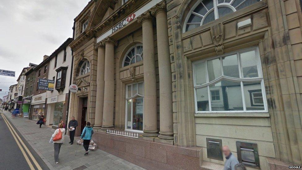 HSBC Aberystwyth