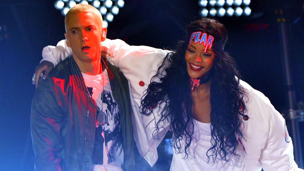 Eminem i Rijana