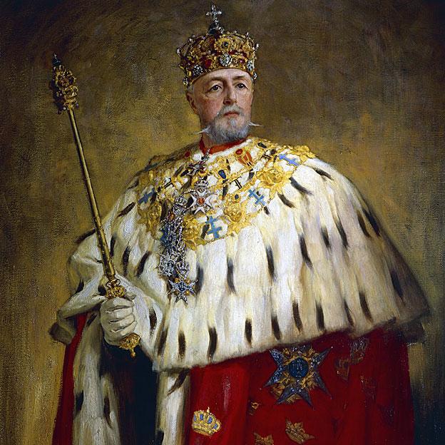 Rey Oscar II de Suecia y Noruega