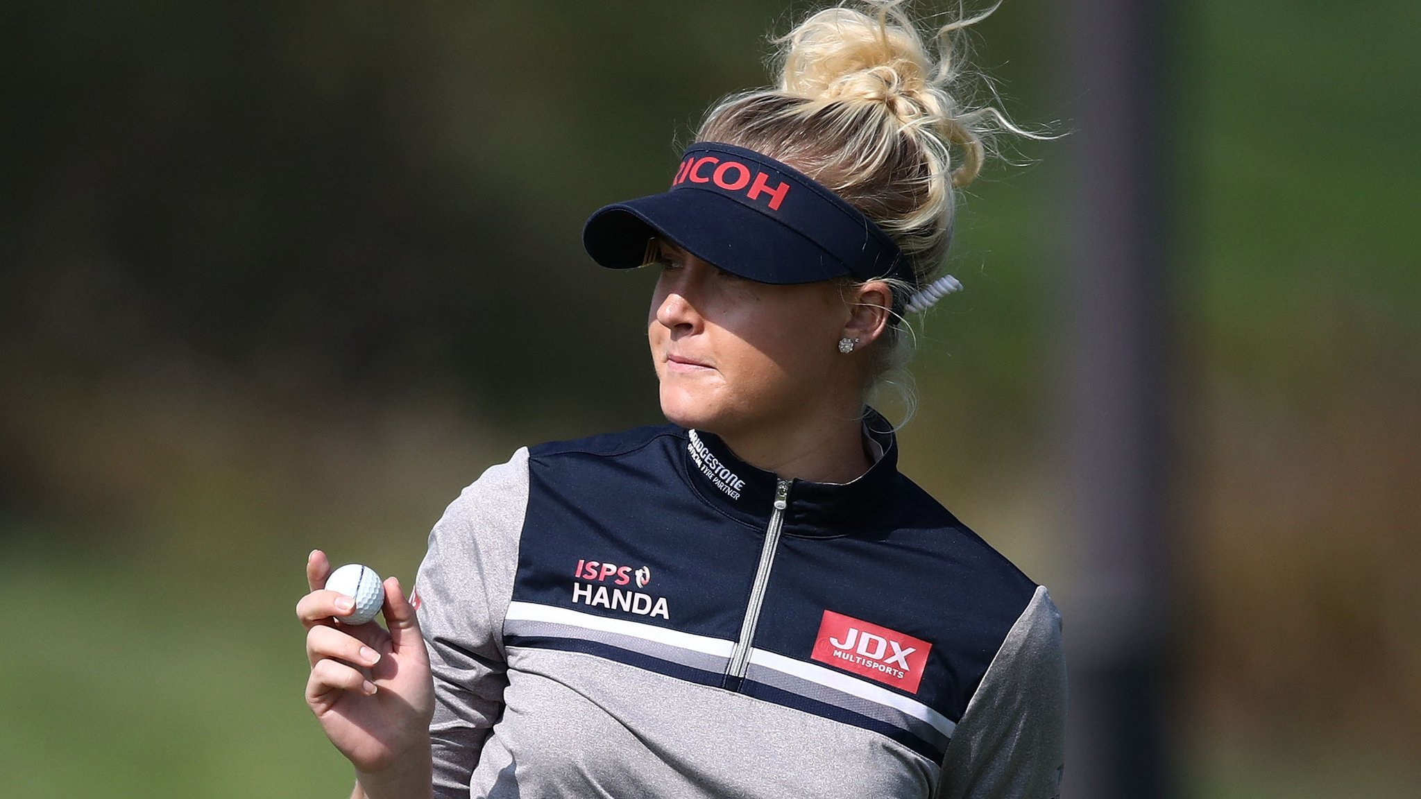 Charley Hull second at KEB Hana Bank Championship behind Chun In-gee