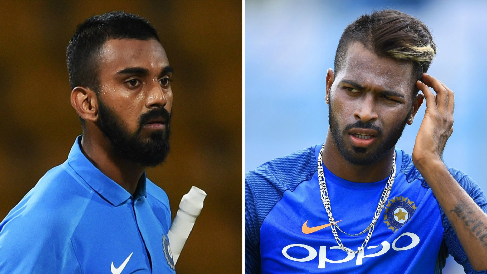 Rahul and Pandya banned by India following comments about women