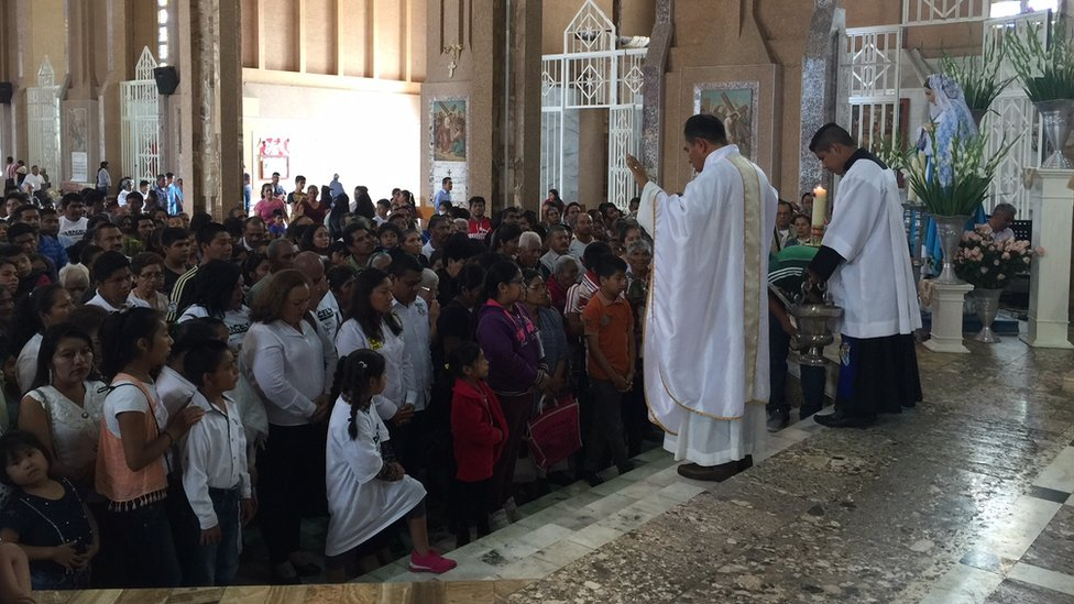 Misa en Chilapa.