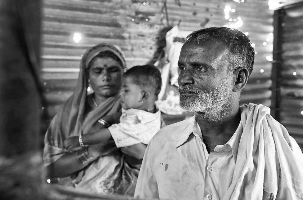 Nitin Aage's father and mother