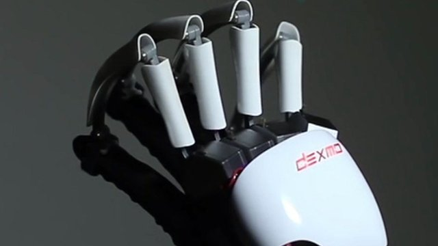 Exoskeleton gloves created by Dexta Robotics
