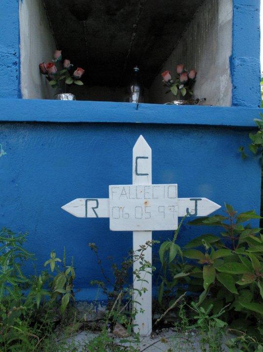 La tumba de Rudesindo Cantarell