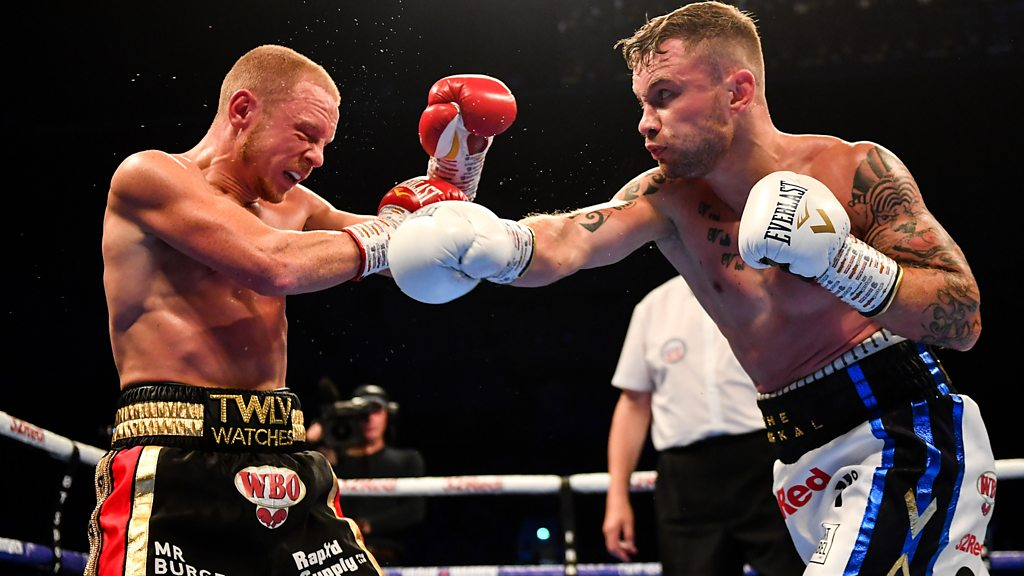 Carl Frampton stops Luke Jackson to set up Josh Warrington fight