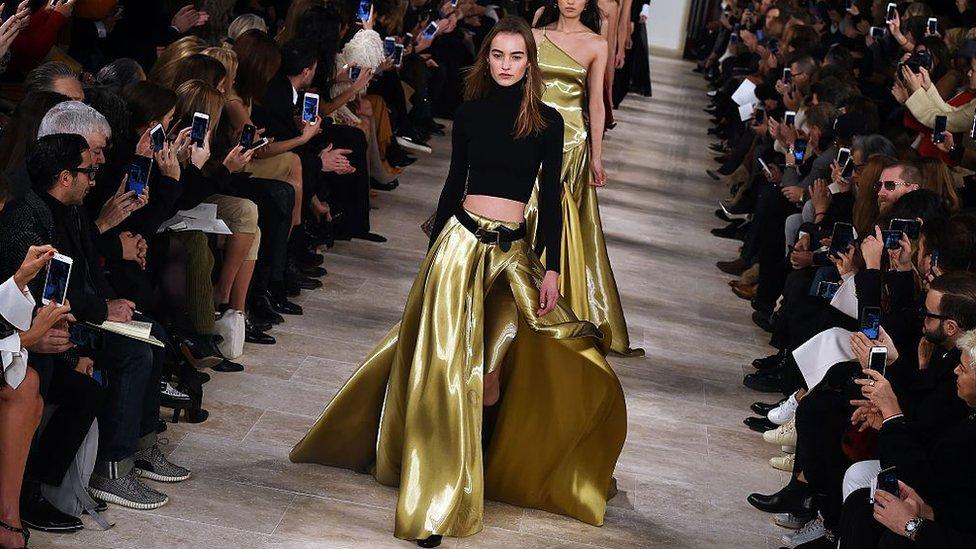 Ralph Lauren runway show