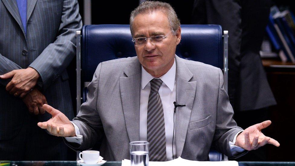 Renan Calheiros, 9 May 2016