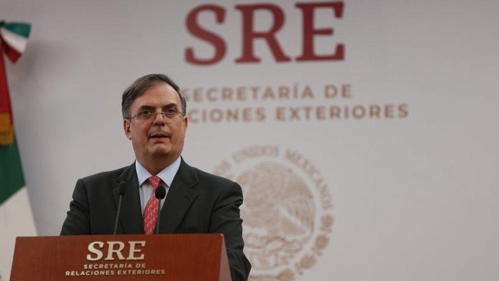 Marcelo Ebrard.
