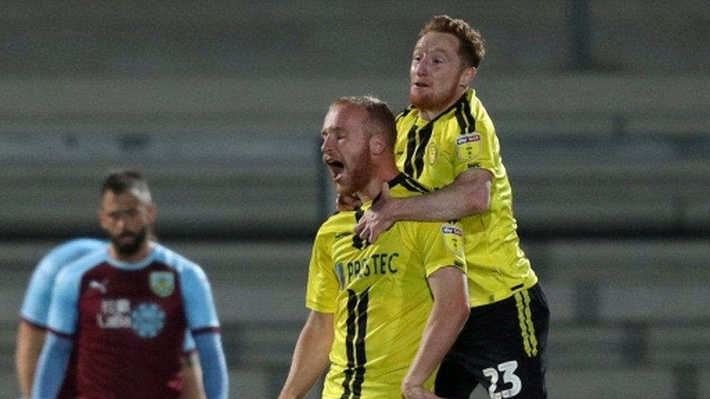 League One Burton knock Burnley out of Carabao Cup