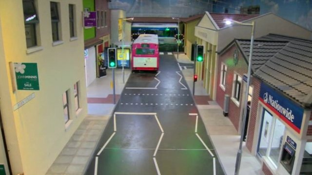 The RADAR centre includes a life-size model street, with bus and train stops, a police station, custody cell and a courthouse