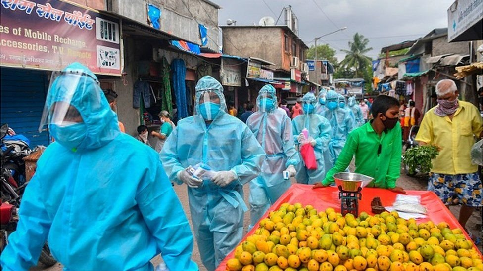 Kasus virus corona di India, covid-19