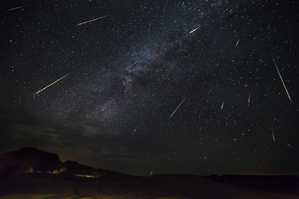 Meteor yağmuru ya da yıldız kayması