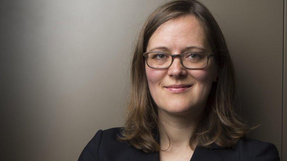Katja Hofmann, investigadora principal del grupo de Inteligencia de Juegos de Microsoft Research.