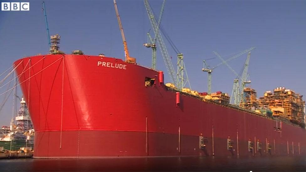 El Prelude, de Shell