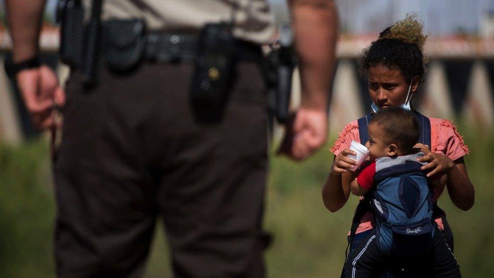 Migrantes de Guatemala.