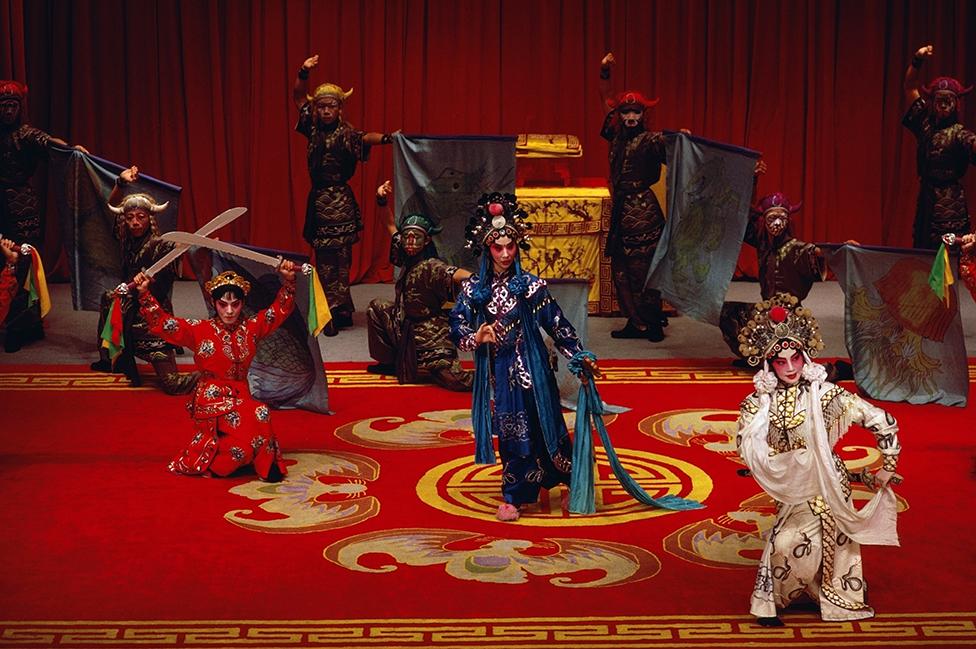 Una ópera tradicional china