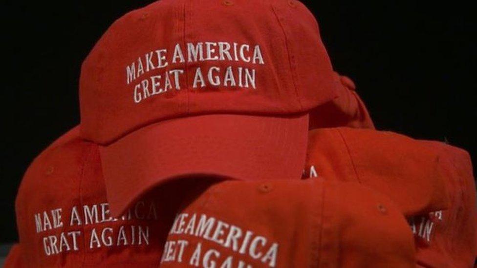 شعار حملة ترامب الرئاسية