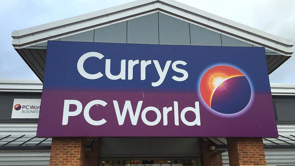 Currys PC World shop front
