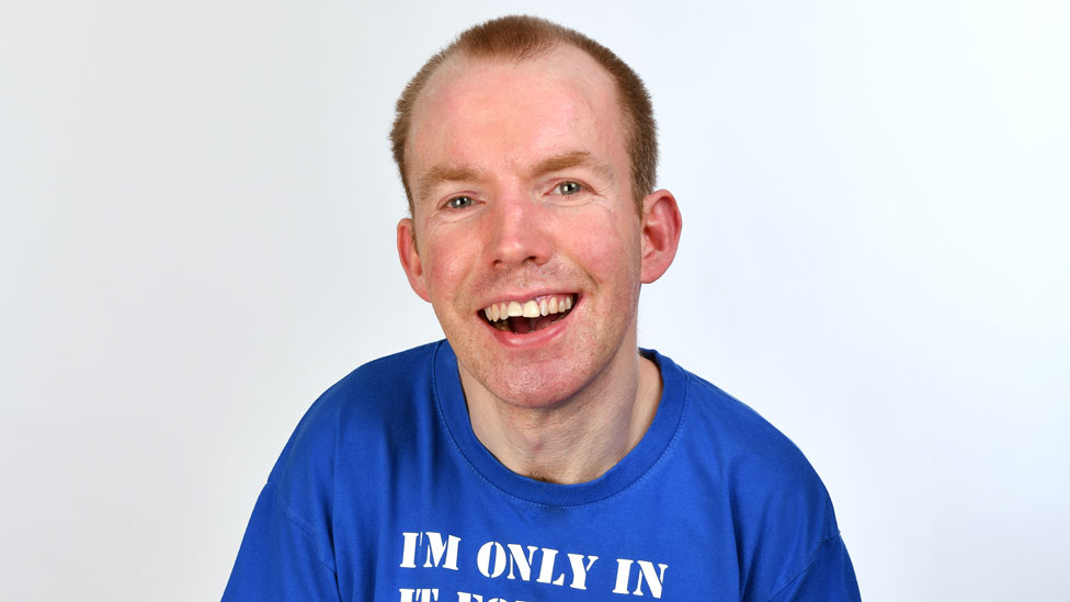 Lost Voice Guy, aka Lee Ridley