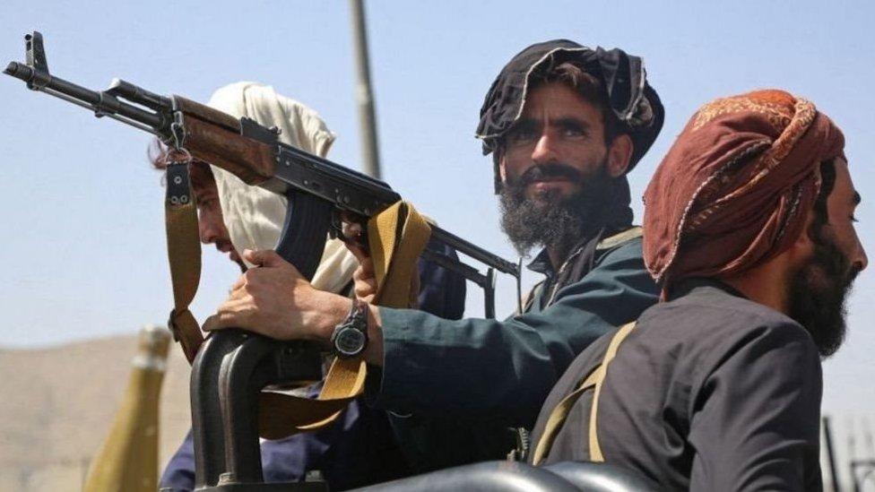بعض مقاتلي طالبان في كابل