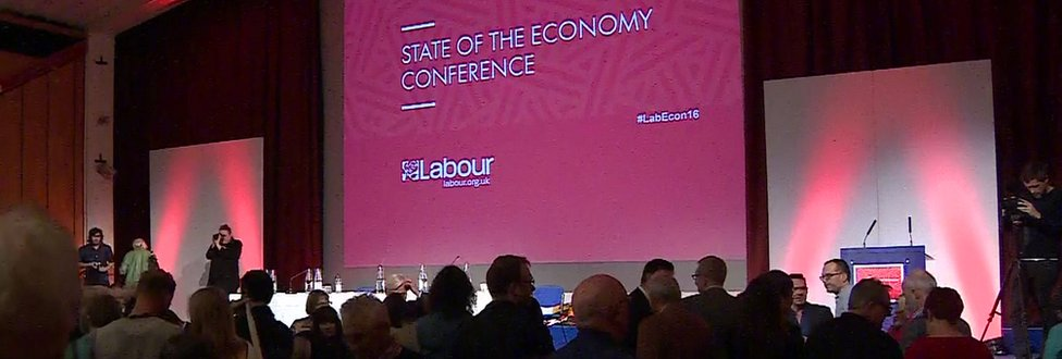 Labour's state of the economy conference
