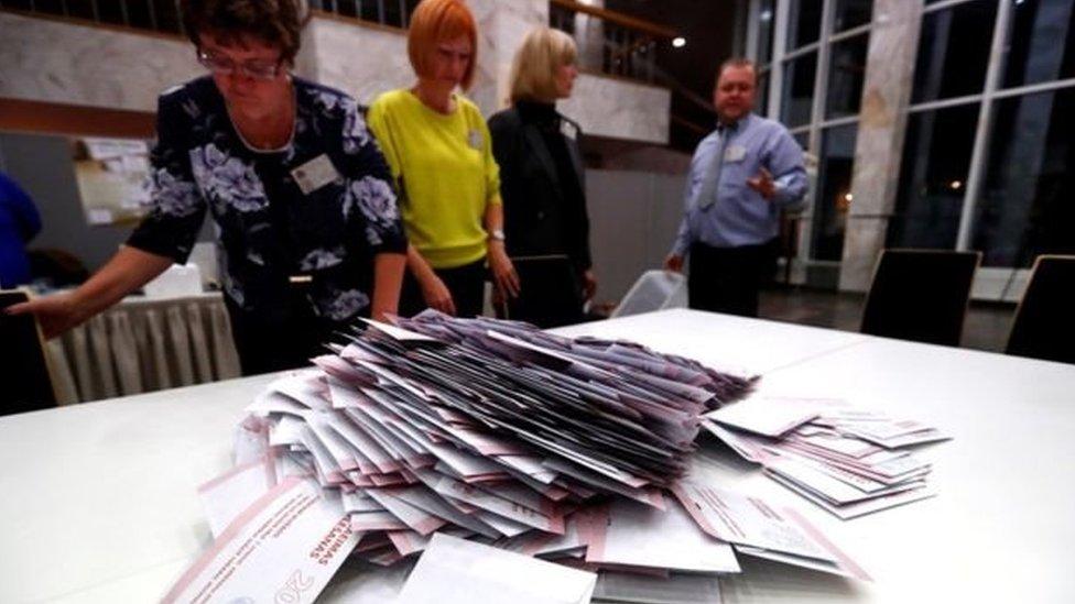 У Латвії на виборах перемагає проросійська партія