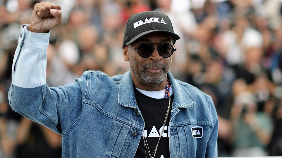 Spike Lee en el Festival de Cannes, 2018