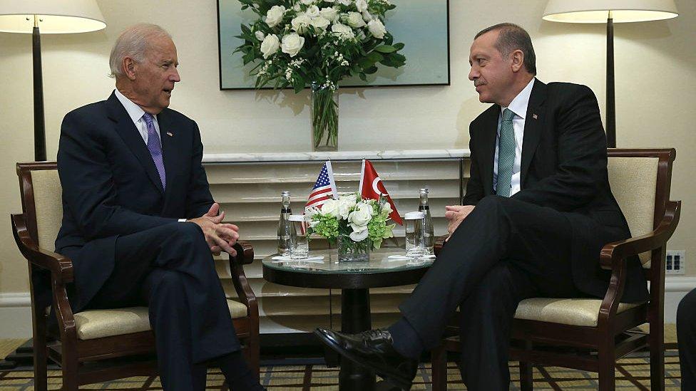 Erdoğan ve Biden