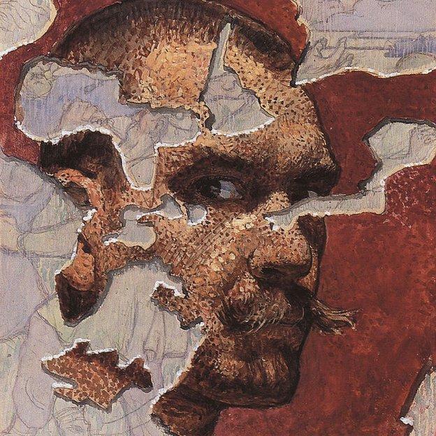 Akseli Gallen-Kallela, autorretrato