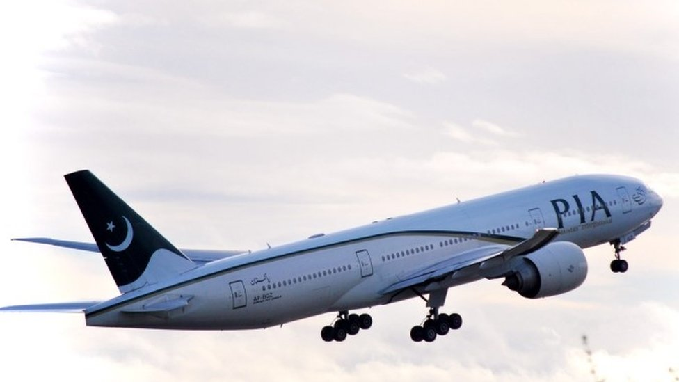 A Pakistan International Airlines Boeing 777 (14 April 2016)