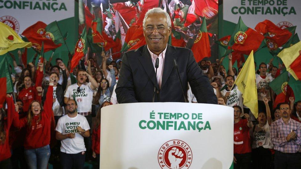 Portguese Prime Minister Antonio Costa