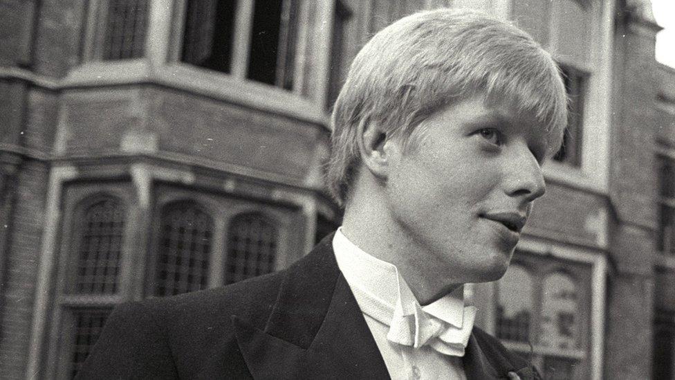 Boris Johnson en una foto de junio de 1986