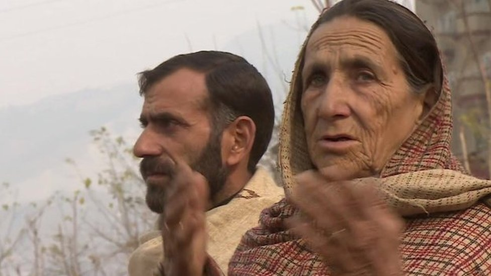 Shafqat Hussain's brother and mother