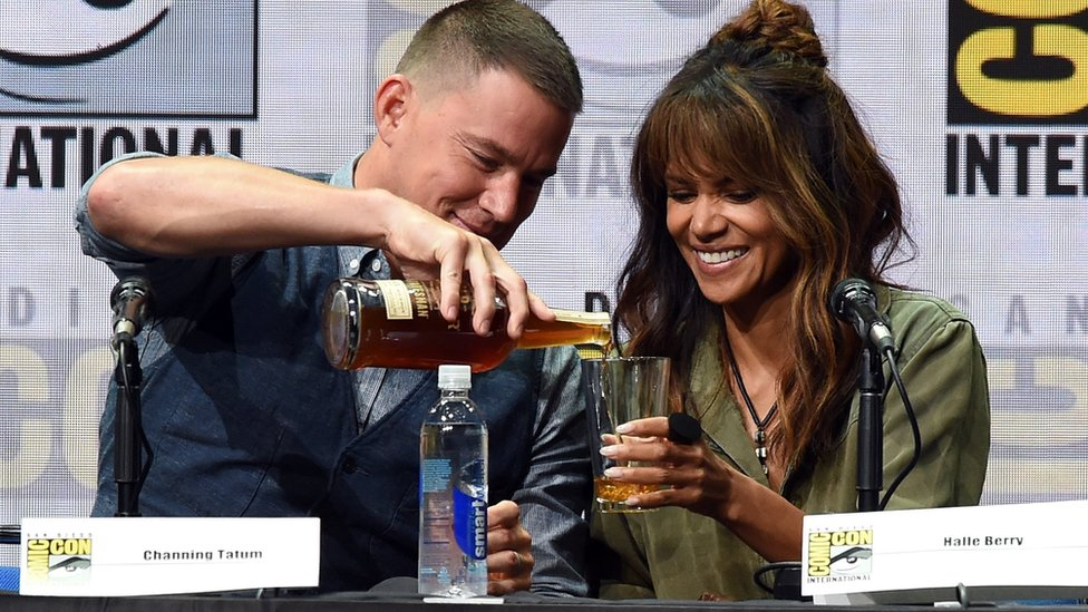 Channing Tatum and Halle Berry