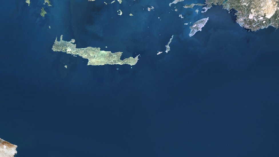 Yunanistan'ın Türkiye ve Libya arasında adaları bulunuyor