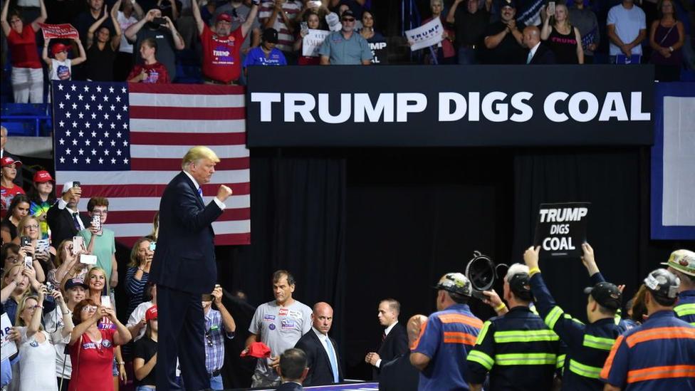 Carvão Trump