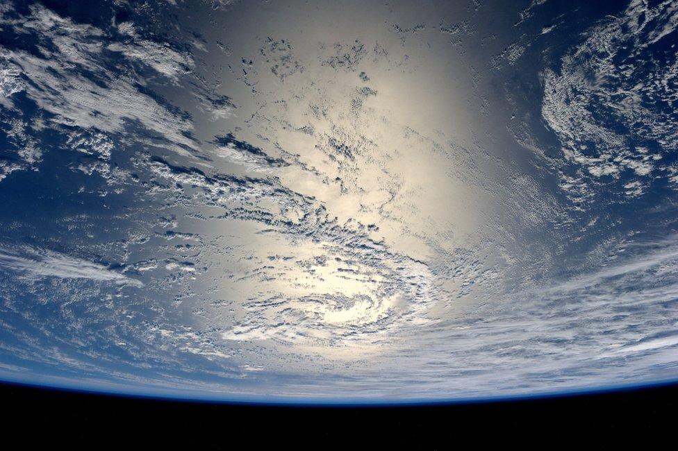 Imagen la Tierra vista desde el espacio