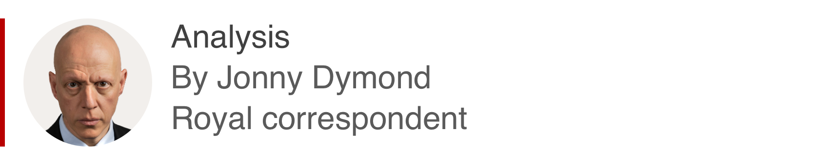 Analysis box by Jonny Dymond, royal correspondent