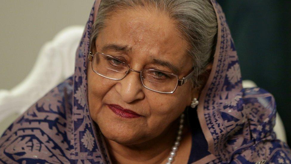 Sheikh Hasina: Lawsuit threat over Bangladesh PM 'tail' error