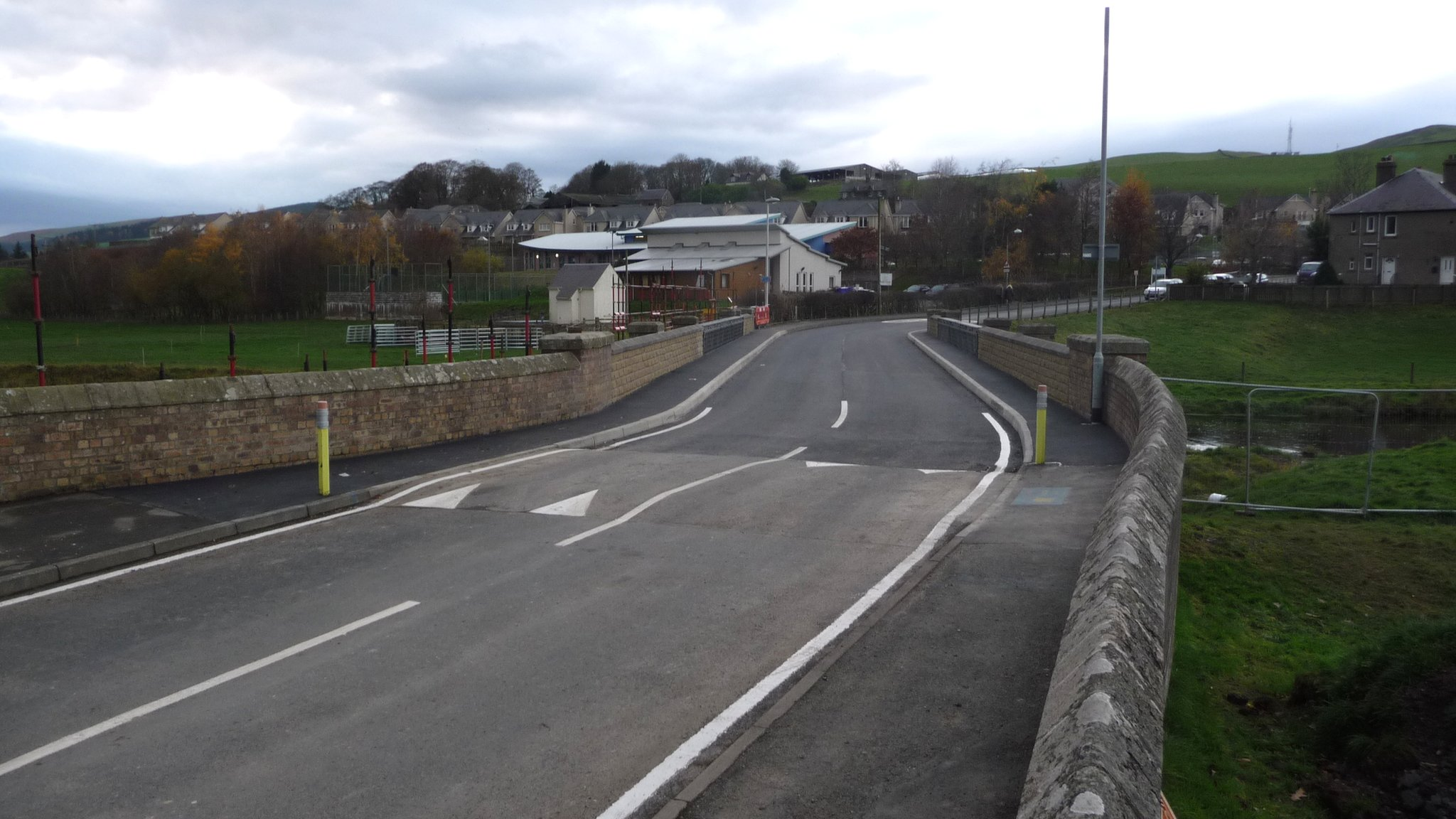 Stow railway station bridge overhaul completed