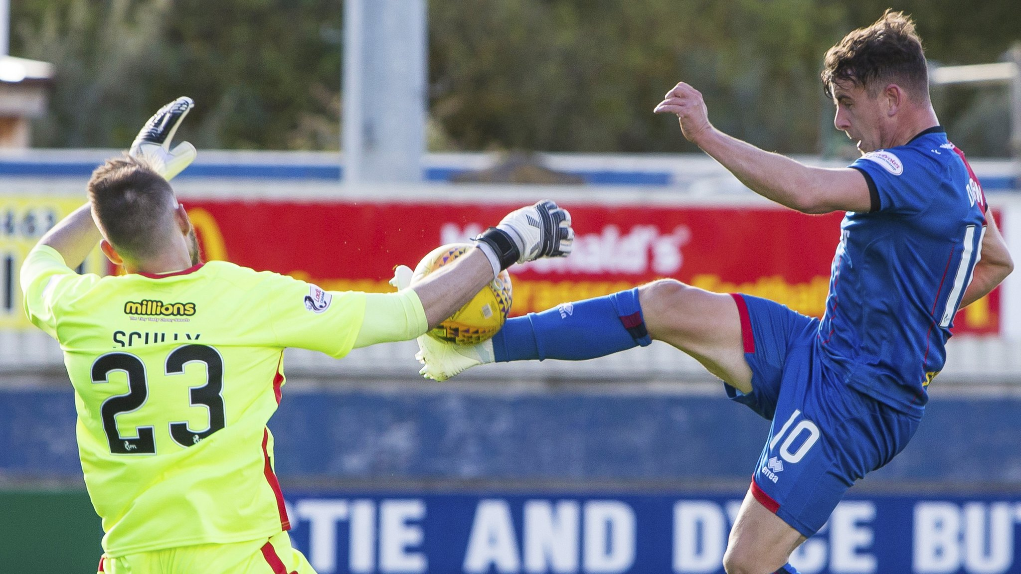 Inverness Caledonian Thistle 3-3 Greenock Morton: Championship foes battle to draw
