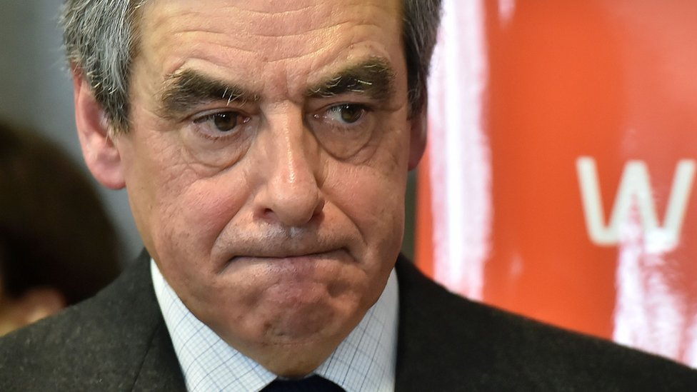 French presidential candidate Francois Fillon, 25 January 2017