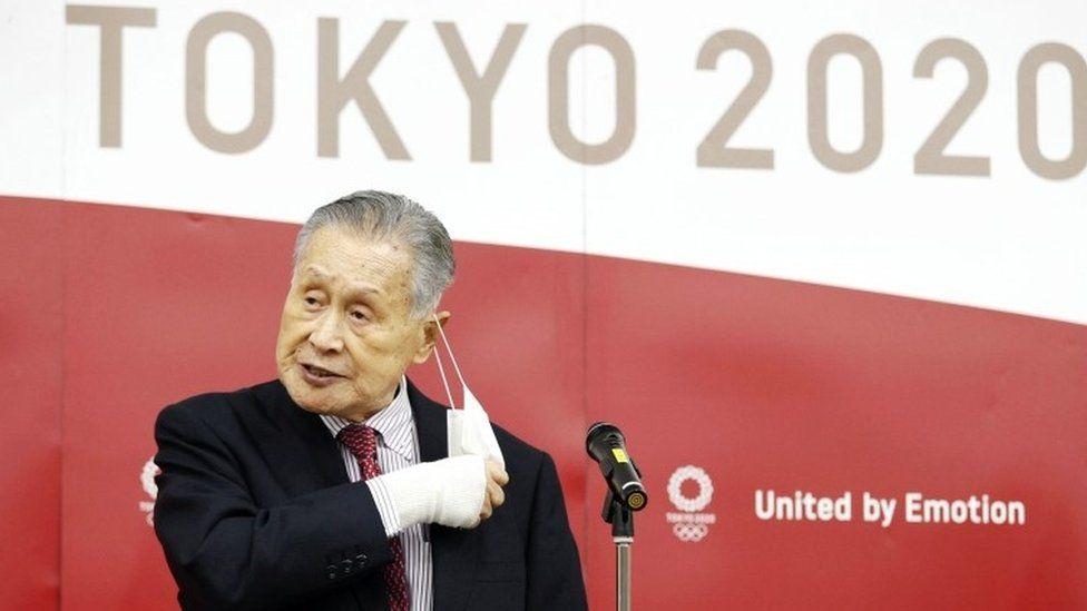 يوشيرو موري، رئيس اللجنة التنظيمية المشرفة على الألعاب الأولمبية في طوكيو