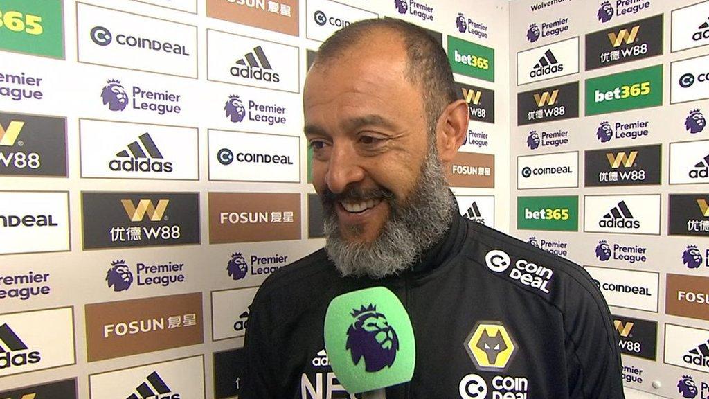 Wolves 3-1 Arsenal: Nuno Espirito Santo delighted as his side edge towards Europe