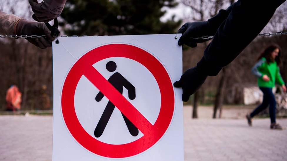 Parkovi na Kosovu su zatvoreni