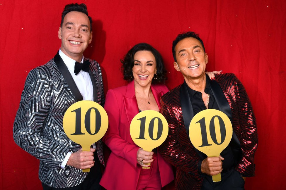 Strictly Come Dancing judges - Craig Revel Horwood, Shirley Ballas and Bruno Tonioli
