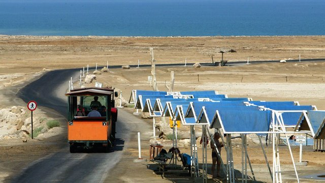 The Dead Sea itself is shrinking but its appeal is not