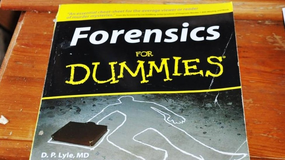 Forensic for Dummies book